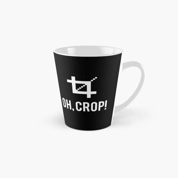 Oh, Crop! (white) Tall Mug