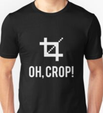 Oh, Crop! (white) T-Shirt