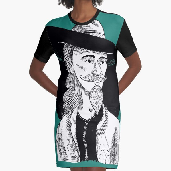 Buffalo Bill the Legend Graphic T-Shirt Dress