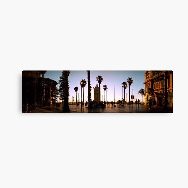 glenelg square Canvas Print