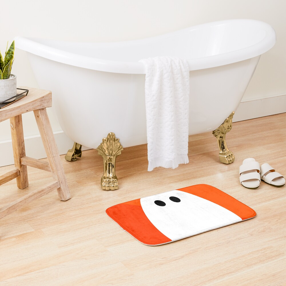 Halloween ghost Bath Mat