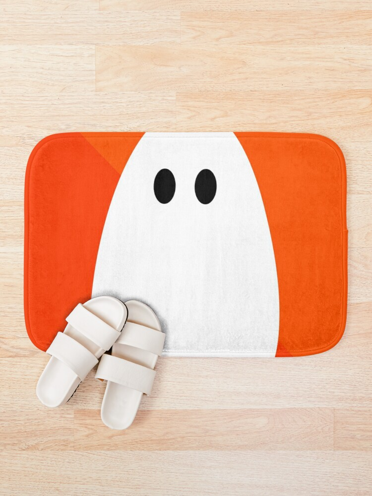 Alternate view of Halloween ghost Bath Mat
