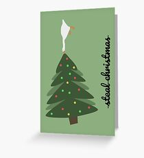 Untitled Goose Game - Christmas Edition Greeting Card