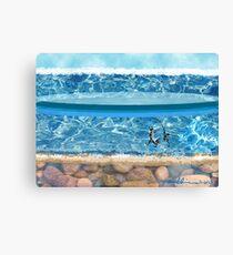 """""""Sunny Beach""""  Canvas Print"""