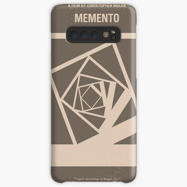 No243- Memento minimal movie poster     Samsung Galaxy Snap Case