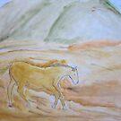 NikkiJo's 'Desert Horse' by Art 4 ME