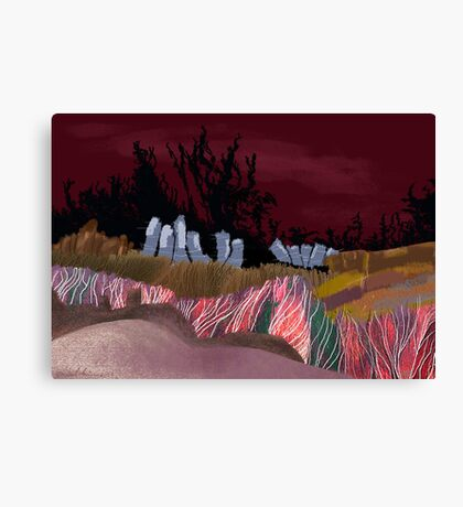 """Dawn Travelers""  Canvas Print"