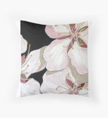 """Cherry Blossom"" Throw Pillow"