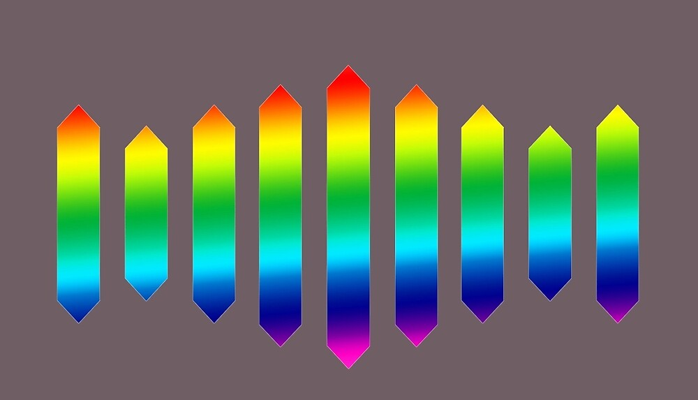 Sufjan Stevens Rainbow Design by collectionpoint