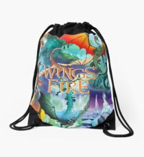 Wings Of Fire All Dragon Chapter Drawstring Bag