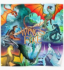Wings Of Fire All Dragon Chapter Poster