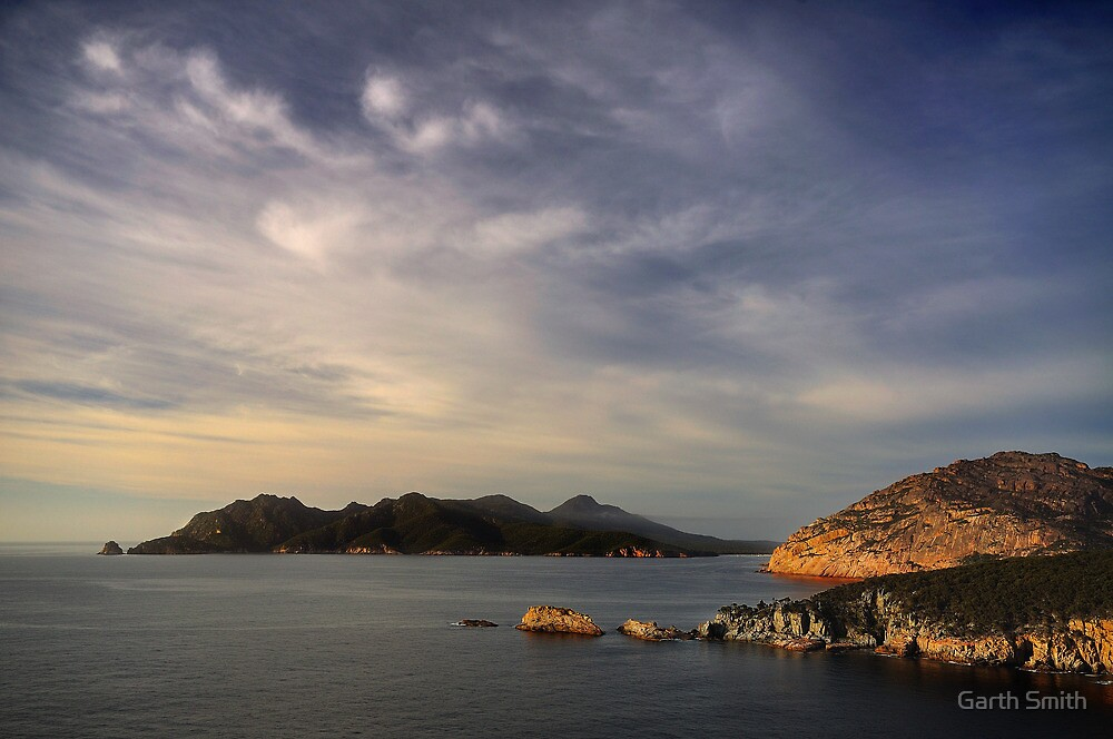 Freycinet from Cape Tourville by Garth Smith