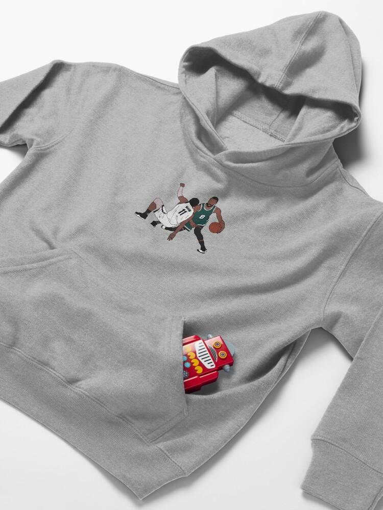 Alternate view of Kemba Walker Crosses Over Kyrie Kids Pullover Hoodie