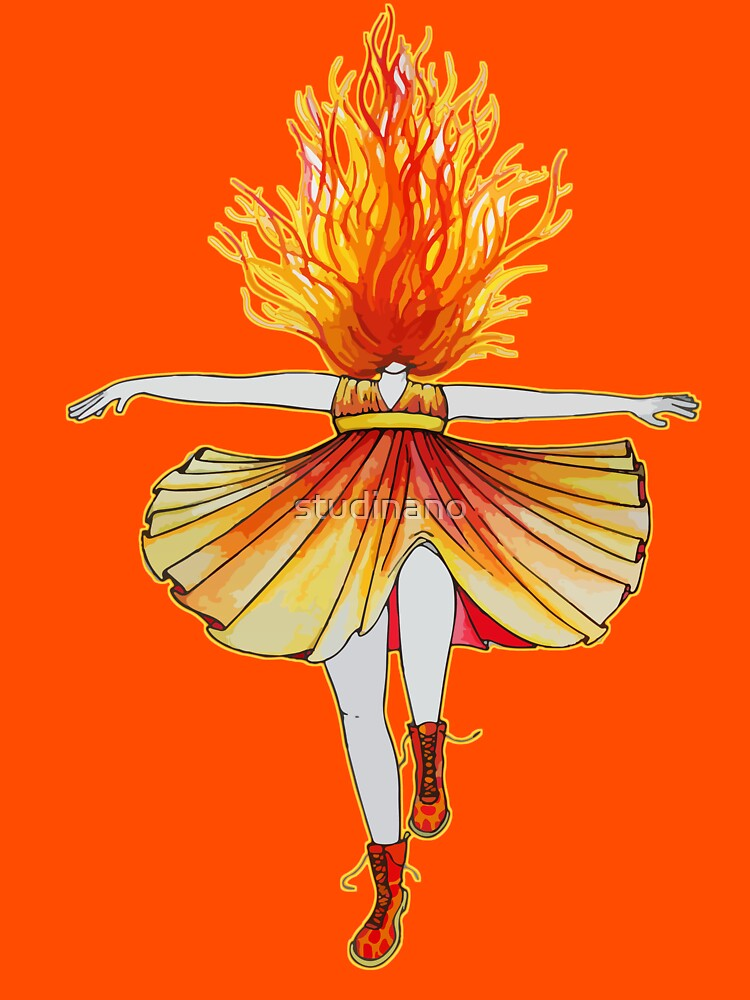 Girl on fire by Studinano by studinano