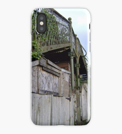 bridge over a.. shed? iPhone Case