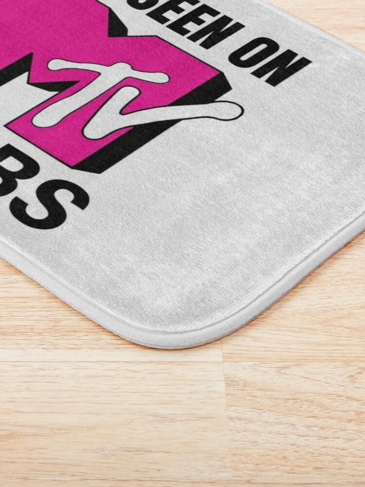 Alternate view of As Seen On MTV Cribs Pink Logo Bath Mat