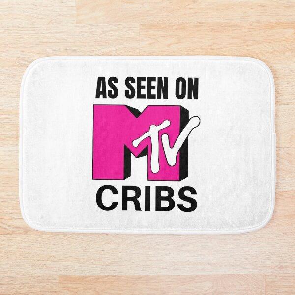 Logo rose tel que vu sur les lits de bébé MTV Tapis de bain