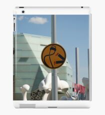 0837 Pedestrians are double points this week iPad Case/Skin