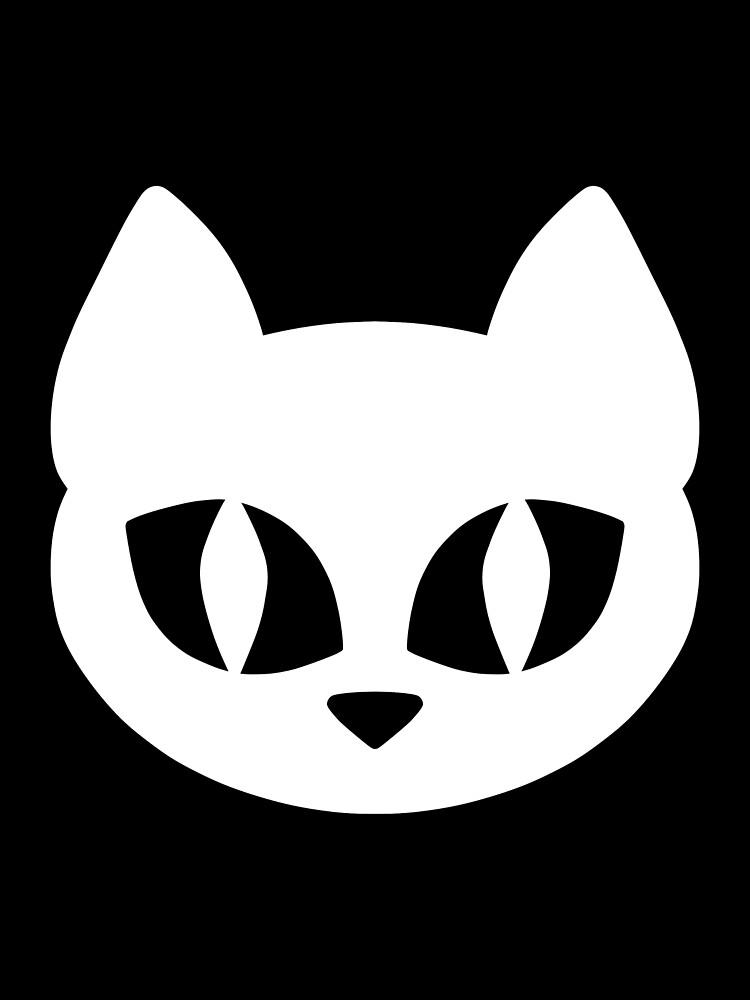 White Cat Head by DeliriumLina