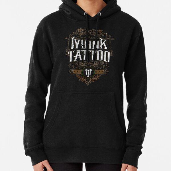 Ivy Ink Tattoo Logo Pullover Hoodie