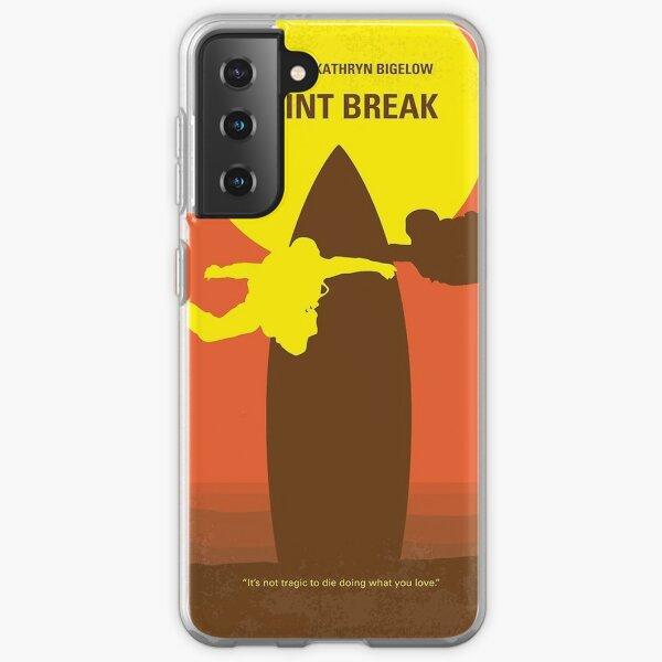 No455- Point Break minimal movie poster      Samsung Galaxy Soft Case