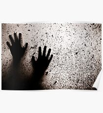 hands and window Poster