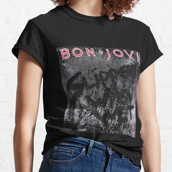 layananpaspor Resbaladizo cuando está mojado Bon Jovi Camiseta clásica