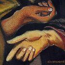 Hands after El Greco by Kostas Koutsoukanidis