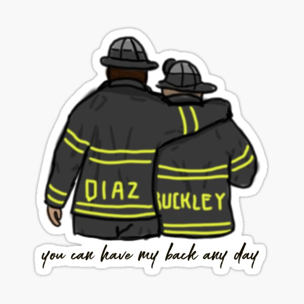Buddie - You can have my back any day Sticker