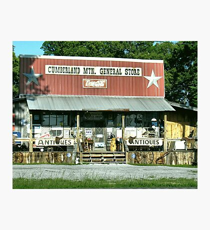 """""""Cumberland Mountain General Store (color version)""""... prints and products Photographic Print"""