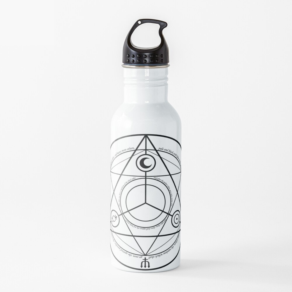Alchemy Symbol,   ur,water_bottle_metal_lid_on,square,1000x1000