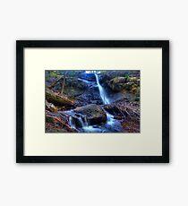 Stanley park falls Mt Macedon Vic Australia Framed Print