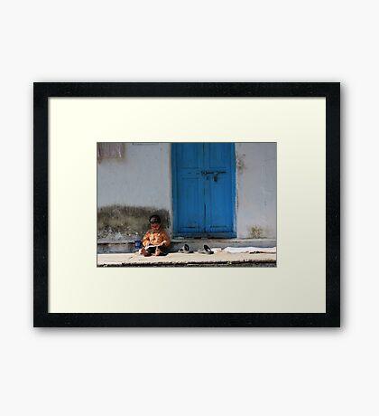 Babloo Framed Print