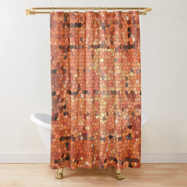 Mosaic Brick by Brick Shower Curtain