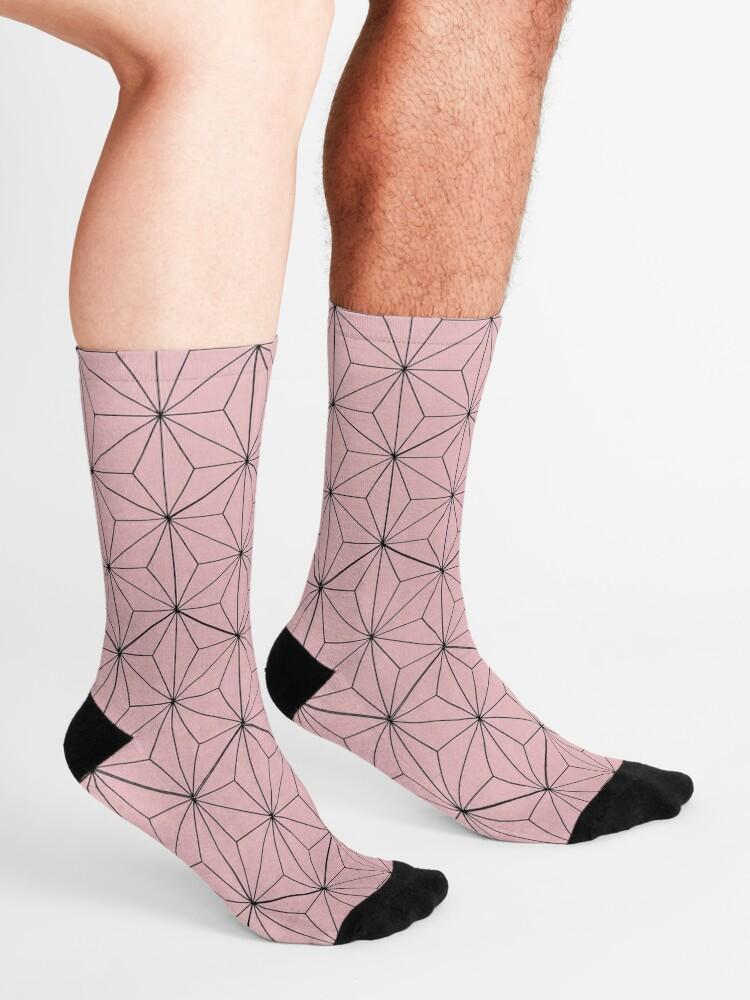 Alternate view of Nezuko pattern Socks