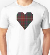 00343 Meath County District Tartan  T-Shirt
