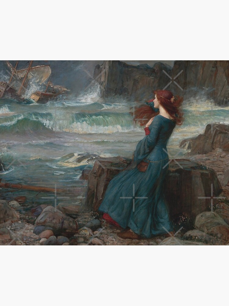 Miranda - The Tempest, 1916 John William Waterhouse by immortalpeaches
