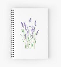purple lavender  Spiral Notebook
