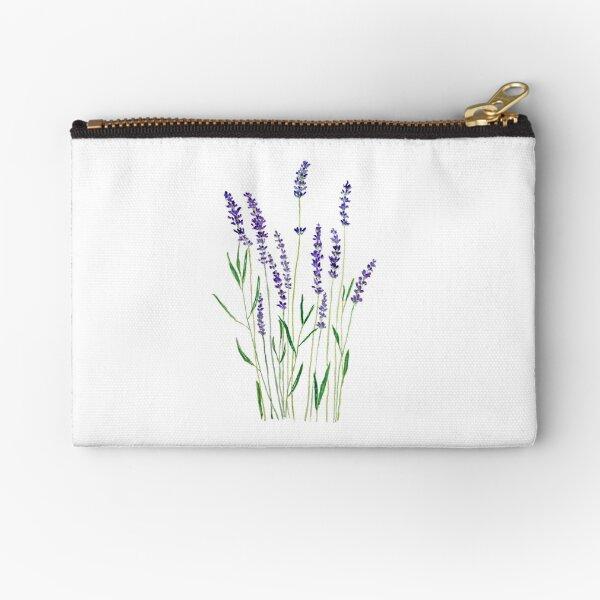 purple lavender  Zipper Pouch