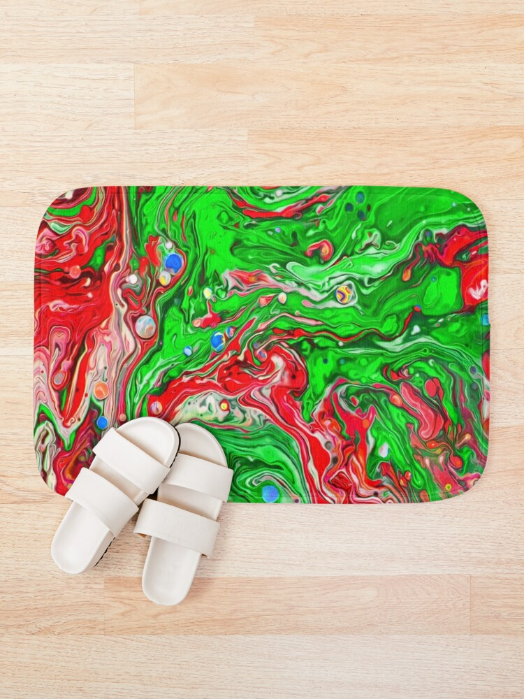 Alternate view of Abstraction #C Bath Mat