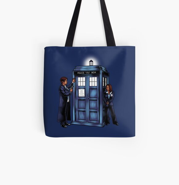 The Agents have the Phone Box All Over Print Tote Bag