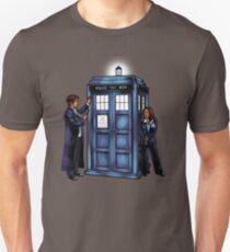 Die Agenten haben die Telefonbox Slim Fit T-Shirt