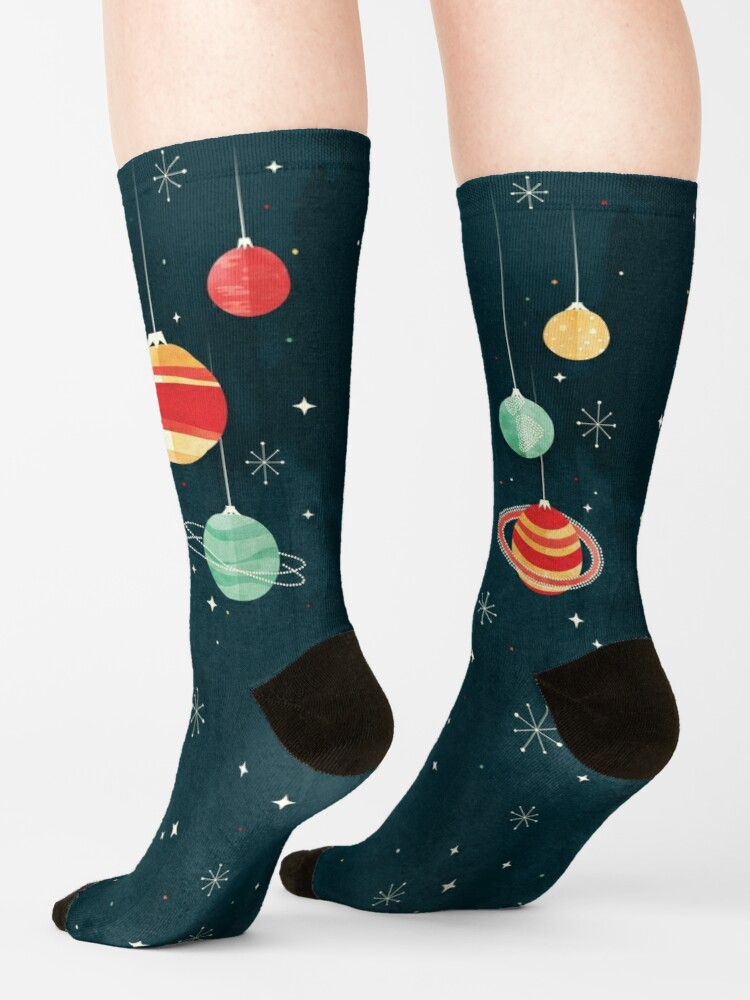 Alternate view of Joy to the Universe Socks