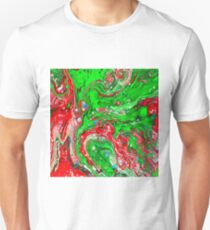 Abstraction #C Slim Fit T-Shirt