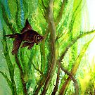 Fish - Amongst the Reeds  by Linda Callaghan