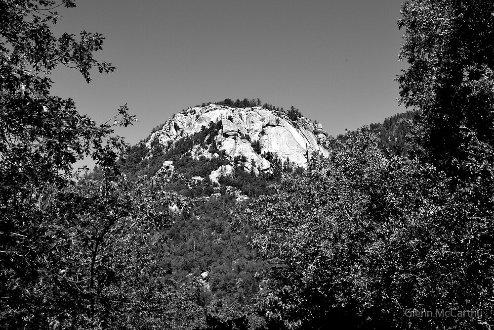 """Suicide Rock In Black and White"" by Glenn McCarthy"