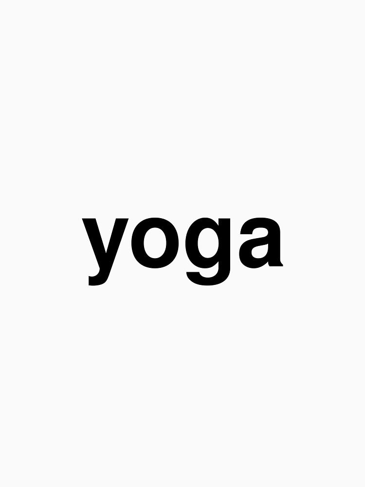 yoga by ninov94