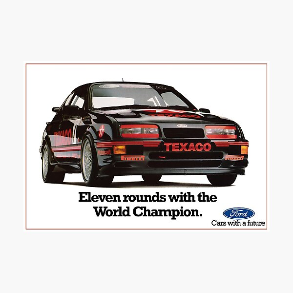 FORD SIERRA COSWORTH RS500 Photographic Print