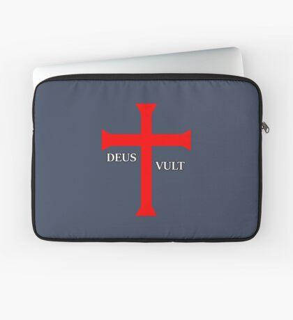 DEUS VULT (God wills it!) Laptop Sleeve