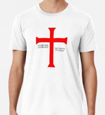 DEUS VULT (God wills it!) Premium T-Shirt